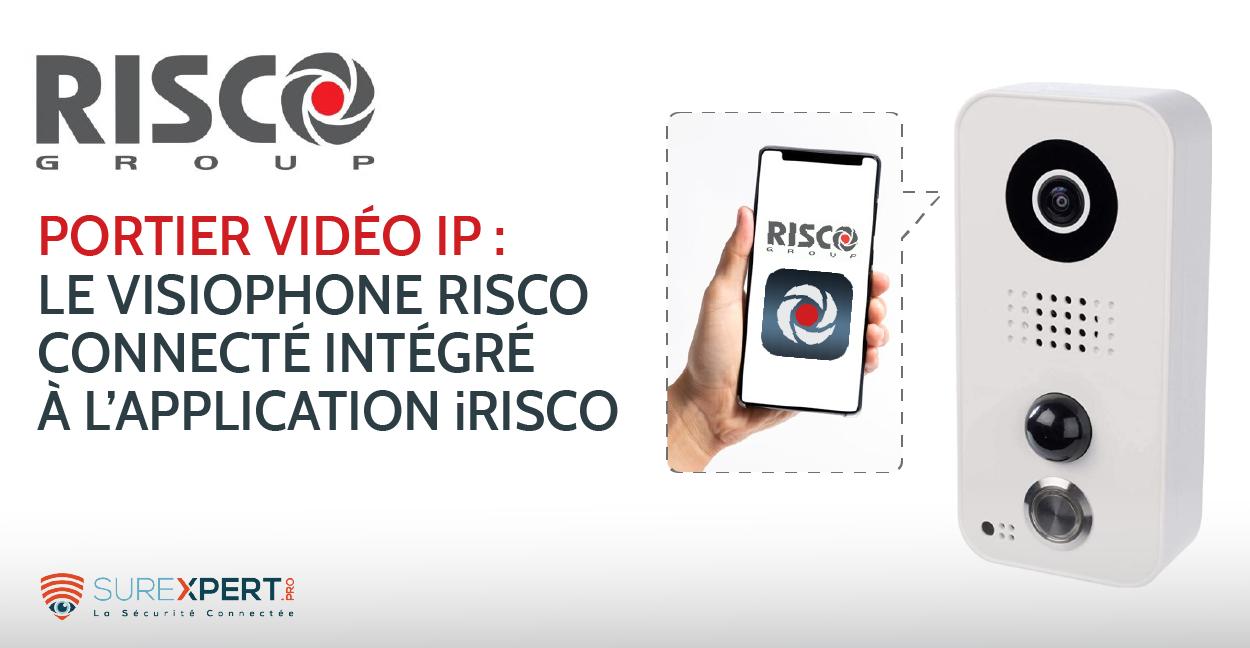 Portier vidéo RISCO ip : le visiophone connecté