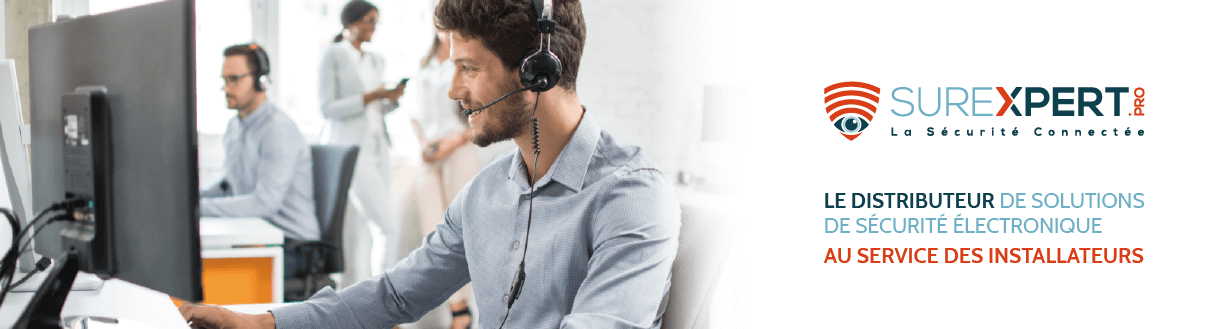 Surexpert, le distributeur de solutions de sécurité électronique, au service des installateurs